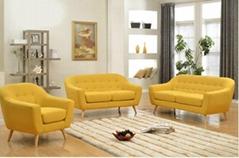 客厅沙发布艺组合沙发