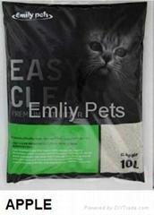 Emily Pets Bentonite Cat Litter Apple 10L