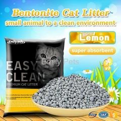 Emily Pets Bentonite Cat Litter Lemon 5L