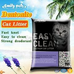 Emily Pets Bentonite Cat Litter Lavender 5L