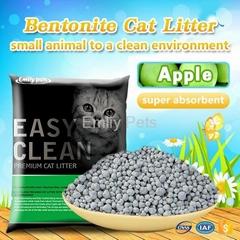Emily Pets Bentonite Cat Litter Apple 5L
