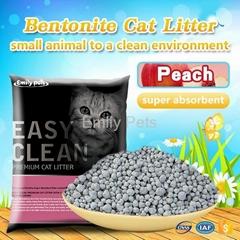 Emily Pets Bentonite Cat Litter Peach 5L