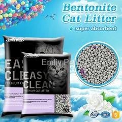 Emily Pets Bentonite Cat Litter Jasmine 5L