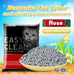 Emily Pets Bentonite Cat Litter Rose 5L