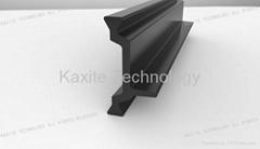 PA66 thermal break strip applied to aluminium profile