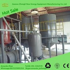 Waste oil refinery distillation plant sell online
