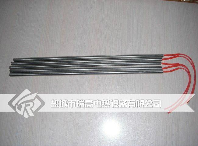 硫化机电加热管 4
