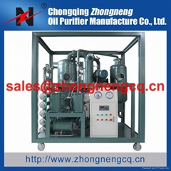 Phosphate Ester Fire-Resistant Oil Purifier Series TYA-I