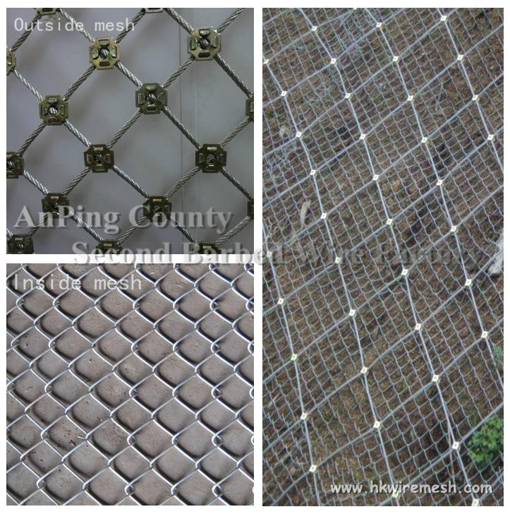 Flexible Wire Mesh For Slope Protection
