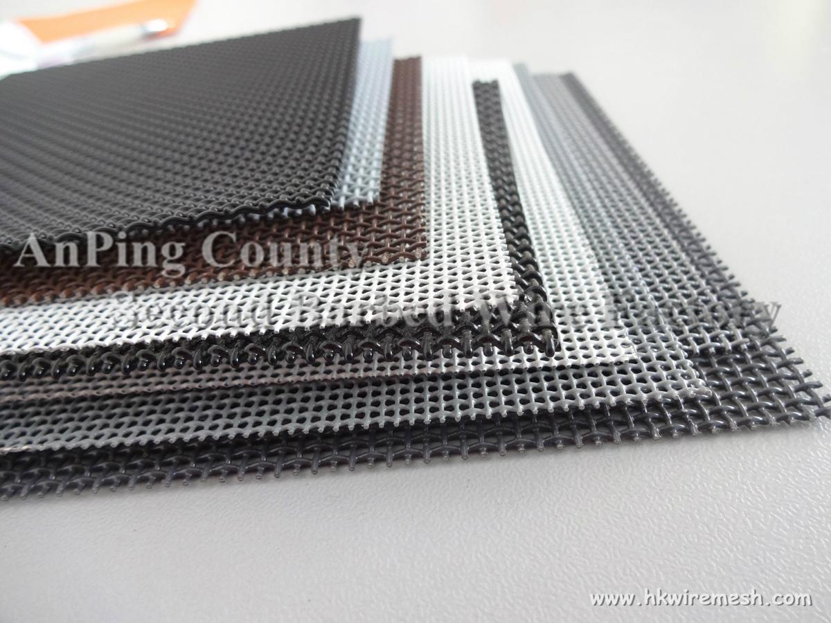 Stainless steel 304 diamond mesh for bulletproof window screen 2