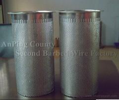 厂家加工定制各类不锈钢过滤筒筛分网