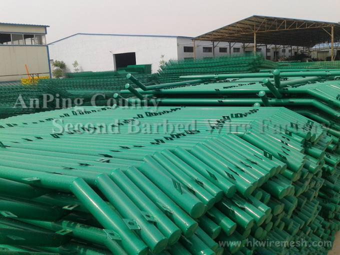 PVC Coated Double Wire Fence 4