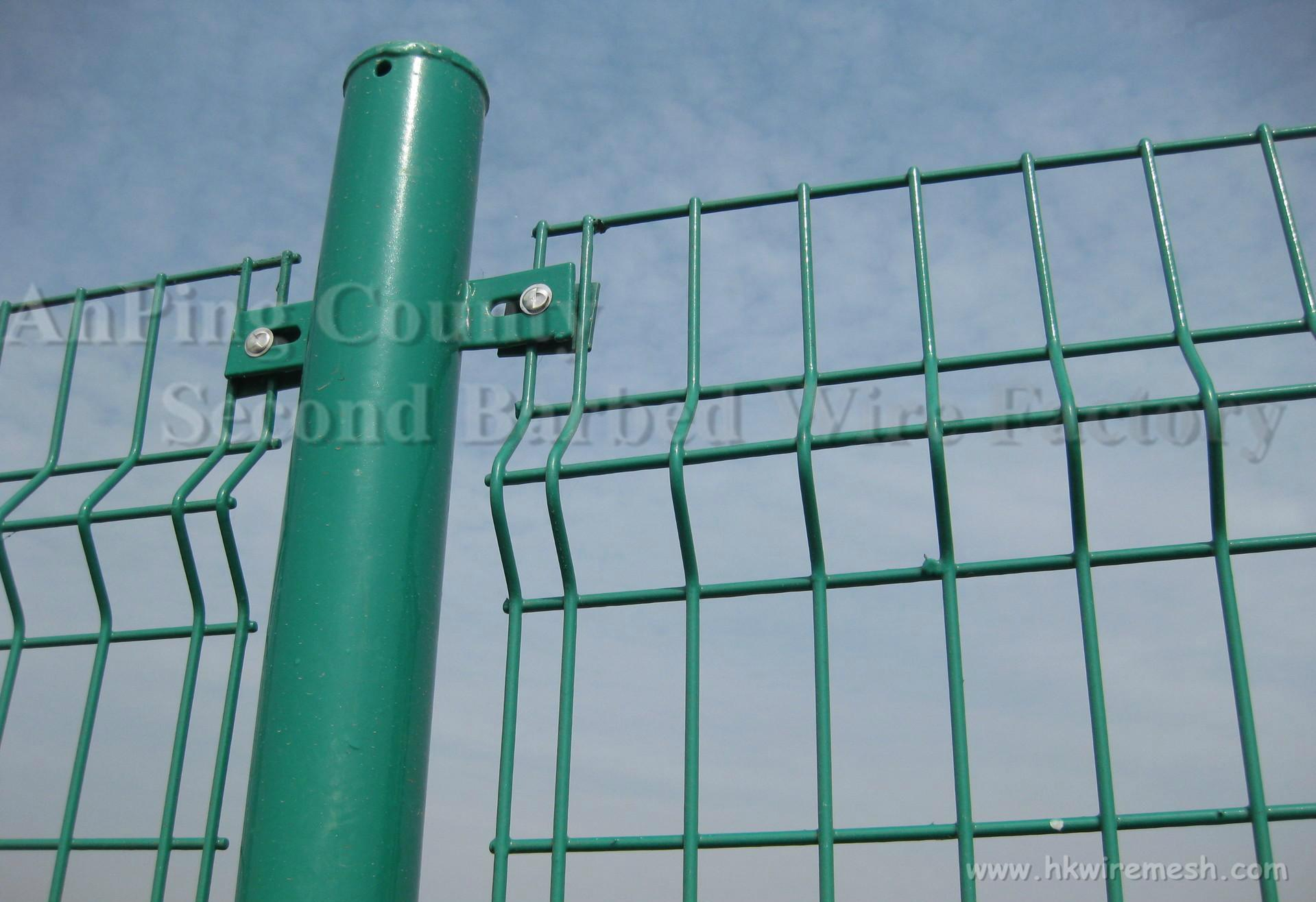 PVC Coated Double Wire Fence 2