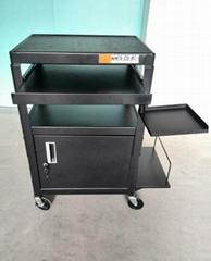 带柜显卡仪器电脑桌推车台式机设
