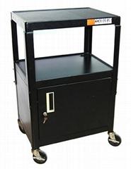 电脑打印机设备移动四轮工作台