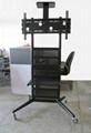 液晶電視架廣告機顯示器可移動支