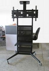 液晶电视架广告机显示器可移动支架