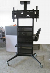 液晶電視架廣告機顯示器可移動支架