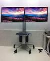 32-55寸双屏电视升降移动落