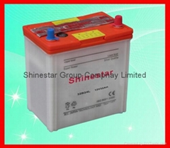 China Supplier factory manufacture 12V 32Ah Dry Auto Battery 32B24L With Import
