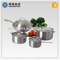 health titanium alloy cookware supplier in China
