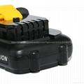 全新替代得伟 DeWALT款 DCB120 锂电池12v/10.8v  4