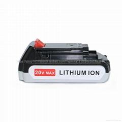 全新替代锂电池  百得 20V新款