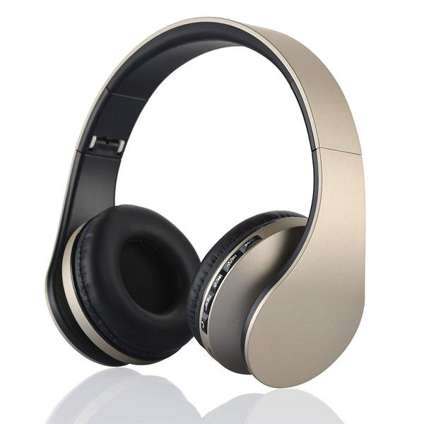 new fashionble with 3.5mm cable TF card bluetooth headset  1