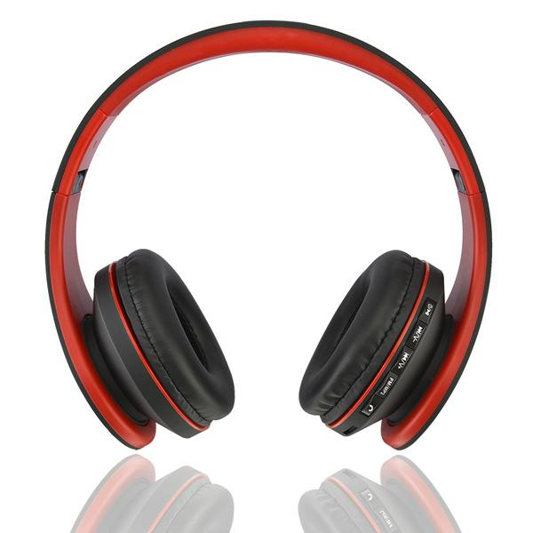 new fashionble with 3.5mm cable TF card bluetooth headset  11