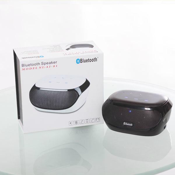 AJ81 touch screen bluetooth portable mini speaker with fm radio  4