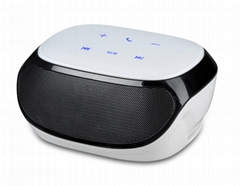 AJ81 touch screen bluetooth portable mini speaker with fm radio