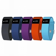 smart band Heart Rate Monitor Wristband Fitness Tracker for Android iOS  (Hot Product - 1*)