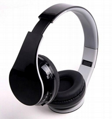 Foldable bluetooth 4.0 stereo headphone with high quality