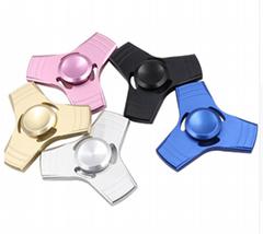 5 Colors EDC Fidget Spinner UFO Tri-spinner Zinc Hand Spinner Aluminum Alloy Fid (Hot Product - 1*)