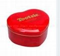 Food grade 0.23mm thickness tinplate Jingli tin box with CMYK or pantone printin 1