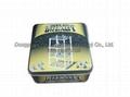 Food grade 0.23mm thickness tinplate Jingli tin box with CMYK or pantone printin 4