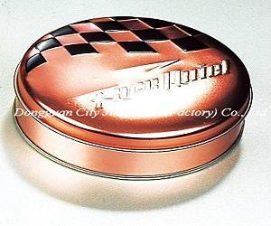 Food grade 0.23mm thickness tinplate Jingli tin box with CMYK or pantone printin 5