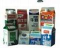全自动屋顶纸盒包装机 3