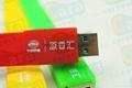 Cara USB silicone bracelet wristband shaped usb disk 8GB flash drives 2