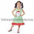 Beautiful Santa Claus appliqued A-line