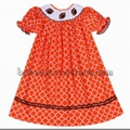 Beautiful rugby smocked bishop dress for