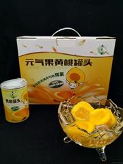 元氣果黃桃罐頭