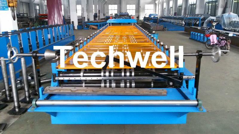 Forming Speed 15 m/min Cold Roll Forming Machine With TW-40*40 3