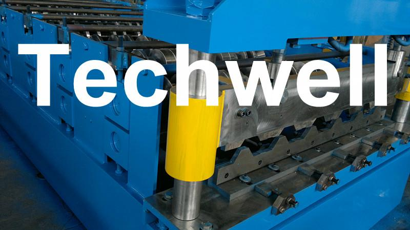 Forming Speed 15 m/min Cold Roll Forming Machine With TW-40*40 4