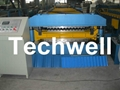 High Speed Steel Metal Roofing Roll Forming Machine with Flying Cutting 4