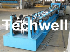 Quick Interchangeable CZ Purlin Roll Forming Machine
