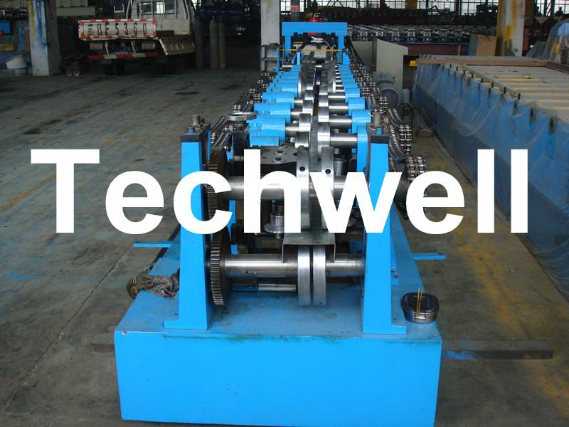Quick Interchangeable CZ Purlin Roll Forming Machine 3