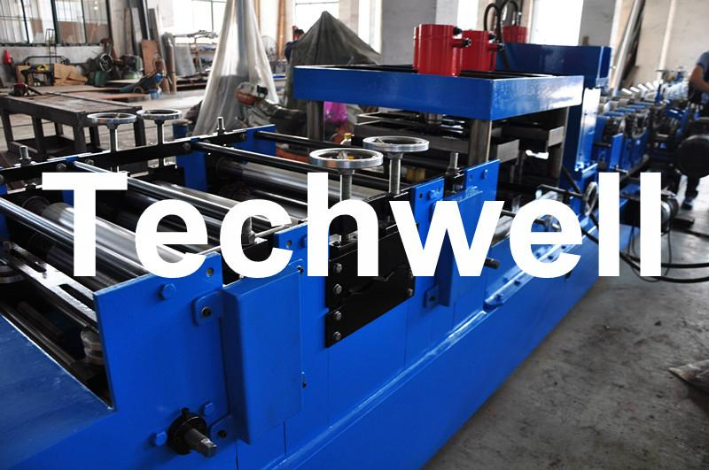 Quick Interchangeable CZ Purlin Roll Forming Machine 4