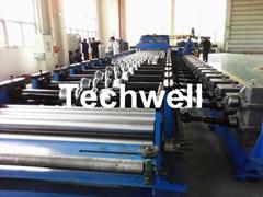 Ga  anized Steel Silo Corrugated Roll Forming Machine