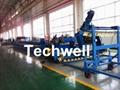 Ga  anized Steel Silo Corrugated Roll Forming Machine 4